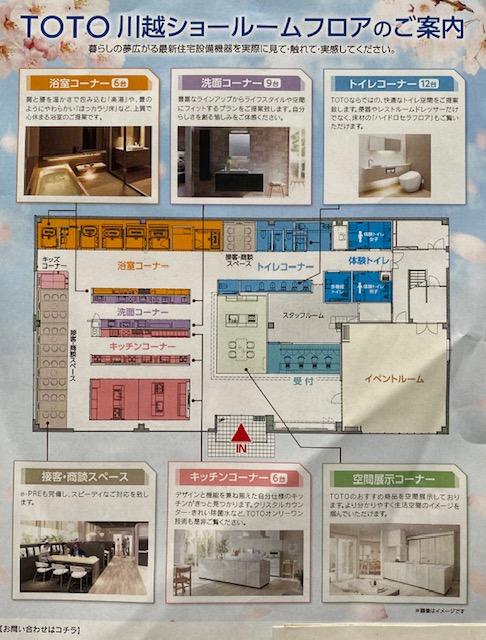 TOTOショールーム川越 リノベーションやリフォームを検討中 埼玉住建所沢